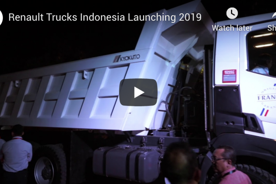 Renault Trucks Indonesia Launching 2019 [Video]