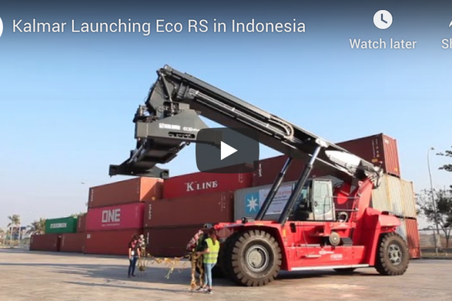 Kalmar Launching Eco RS in Indonesia [Video]